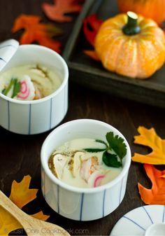 Chawanmushi with Matsutake Mushroom   Easy Japanese Recipes at JustOneCookbook.com
