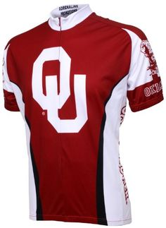 8eba1ecd5d8f NCAA Oklahoma Boomer Sooner Cycling Jersey RedWhite XLarge -- Find out more  about the great