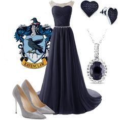 Ravenclaw Yule Ball Outfit X