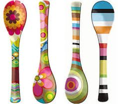 Loft Party has a flirtatiously retro collection of tableware goods, perfect if you like to entertain with a bit of flare. Above: these cute salad servers ...