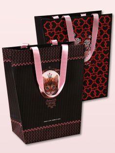 Pussy Deluxe Gift bag set 2 pcs. medium 19 x 10 x 25 - NAPO Shop - der offizielle Nastrovje Potsdam Shop