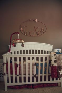 Rustic cowboy nursery  //  a photography.... i am not in any way ready for kids but this is adorable!