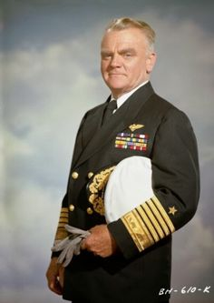 James Cagney as Admiral William F. Bull Halsey
