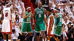 Boston Celtics power forward Kevin Garnett