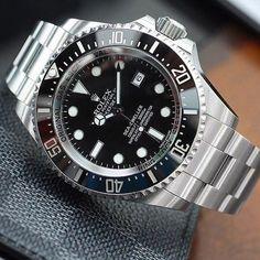 The Rolex Sea-Dweller. @punintendednews #rolex #rolexero credit @rolexdiver #rolexwatch…:
