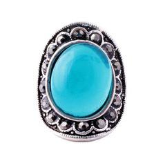 Anel Antique Azul