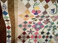 Maureen Schulman and the Northern Star Quilters Guild have donated this beautiful quilt to raise funds for the SADS Foundation in memory of her daughter, Kerri Schulman who passed away from a SADS condition. Thus far, the Schulman family has a total of seven family members diagnosed with Long QT Syndrome.              Tickets are $1 or 6 for $5.  To purchase tickets for this opportunity drawing, contact Maureen Schulman directly at: kerleen@verizon.net