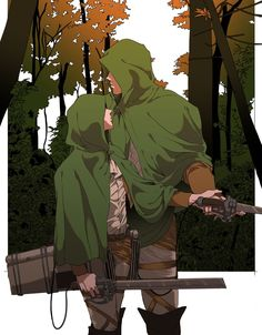 Attack On Titan Ships, Attack On Titan Levi, Haikyuu Manga, Anime Manga, Levi And Erwin, Hxh Characters, Eruri, Levi Ackerman, Cute Drawings
