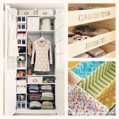 Ordenar armarios pequeños