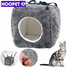 get a brand new collection...come on let's check it out:HOOPET Pet Hammock House Design Pet Hung Dog Bed Cuddly