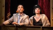 Kawa Ada and Raquel Duffy in The 39 Steps at Toronto's Soulpepper. (Cylla von Tiedemann)
