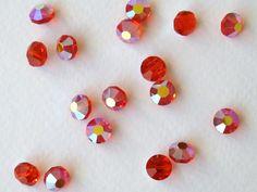 Vintage Swarovski Crystal Beads. Art 5100 Hyacinth