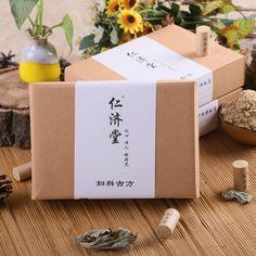 Free shippingYan Chai Tong Fu Ke Yi column moxibustion warm winter palace palace Moxa non-smoking moxa five years Chen moxa