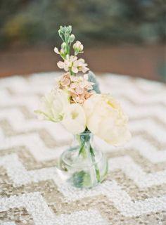 Pretty flowers: http://www.stylemepretty.com/2014/01/27/rustic-rancho-las-lomas-wedding/ | Photography: Elan Klein - http://elankleinphoto.com./