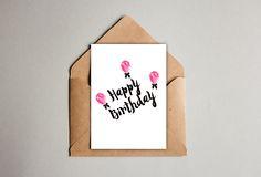 LIFESTYLE INSPIRACJE: Kartka urodzinowa / Birthday card