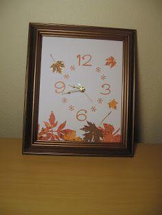 Crafts After College: DIY clock