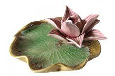 Wierookhouder Lotus (groen-roze)