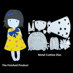 Beautiful Girl Metal Cutting Dies for DIY Scrapbooking Photo Album Embossing Paper Cards Baby Pazzle Paper Crafts Making Stencil-in Cutting Dies from Home & Garden on Aliexpress.com | Alibaba Group