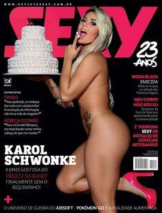 Panicat Karoline Schwonke estrela da Sexy