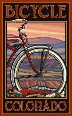PAL-0207 OHB Bicycle Colorado Old Half Bike - Northwest Art Mall
