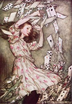 Alice's Adventures in Wonderland, illustrated by Arthur Rackham