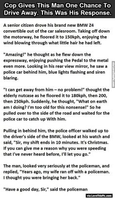 Cop Gives This Man One Chance To Drive Away This Was His Response funny jokes story lol funny quote funny quotes funny sayings joke hilarious humor stories funny jokes best jokes ever best jokes