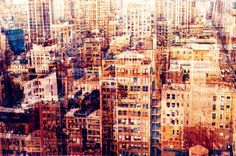 Multilayered composite photography from the Big Apple