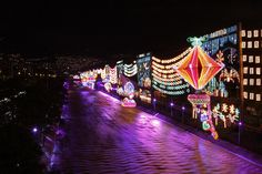 Fair Grounds, Lights, Colombia, Xmas
