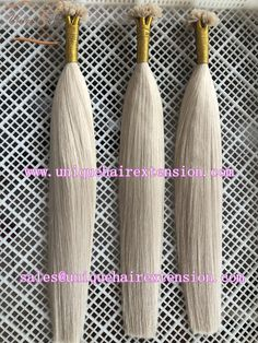 Keratin hair extensions factory, produce the best quality human hair extensions to hair salon and beauty store, factory price. The hair very soft, tangle free no shedding, can produce U tip, I tip, V tip, Flat tip.etc. Many fashion color you can choose, also can produce your own color ring. Our factory also have many stock tape in hair extensions ready to ship, contact our factory to get more info. Qingdao Unique Hair Products Co.,Ltd. www.uniquehairextension.com… Keratin Hair Extensions, Tape In Hair Extensions, Hair Products, Pure Products, Qingdao, Color Ring, Peruvian Hair, Smooth Hair, Unique Hairstyles