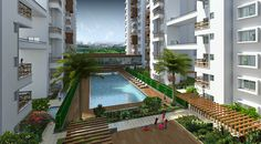 Brentwood Apartments and Penthouses for Sale in Bangalore: Vaswani Brentwood 2-3 BHK apartments and penthouses for sale,  which is located within a 5 minutes drive from Marathahalli – Sarjapur Outer Ring Road and ITPL.