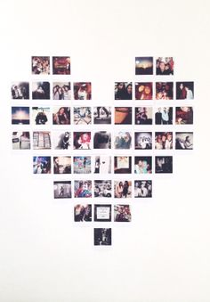 Day aesthetic 28 Ideas wall photos collage ideas polaroid wall is part of Room decor - Collage Foto, Photo Wall Collage, Photo Collages, Collage Walls, Cute Room Decor, Wall Ideas, Room Ideas Bedroom, Bedroom Decor, Home Decor Ideas