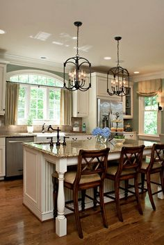 65 Extraordinary traditional style kitchen designs