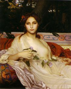 Albayde by Alexandre Cabanel, 1848 #art #painting #Alexandre #Cabanel #Albayde