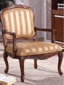 Burnaby Classic Antique Oak Accent Chair