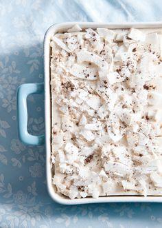 """Vegan coconut-vanilla millet """"cheesecake"""" (no-bake) Sin Gluten, Cooking Tips, Cooking Recipes, Vegan Cake, Sweet Cakes, Something Sweet, Cupcake Cookies, No Bake Cake, Gluten Free Recipes"""