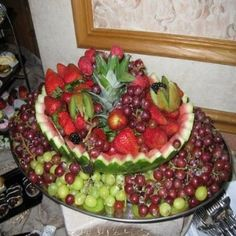 vegetable platter arrangement ideas | Fruit Tray Ideas For Weddings - How To Make A Decorative Fruit Tray ...
