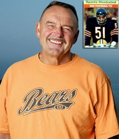 Dick Butkus! Love this guy! If you don't know who he is then you are NOT really a Bears fan!