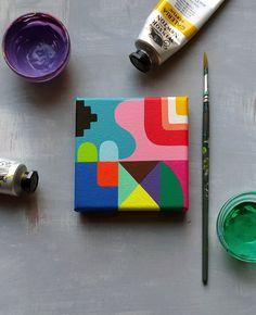 Assemblage_045, hard edge art