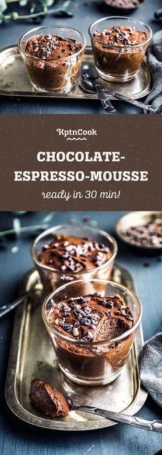 Chocolate-Espresso-Mousse #sweets #dessert