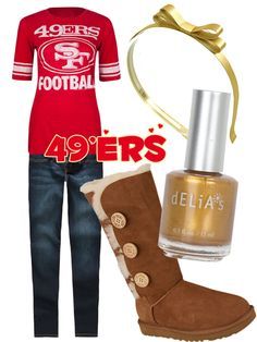 Superbowl Outfit Ideas - Football Fashion - 49'ers