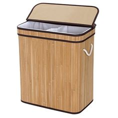 #manythings The #Songmics Bamboo Laundry Hamper is a great method for organizing laundry mess and other trivial stuffs. It simplifies your house working and keep...