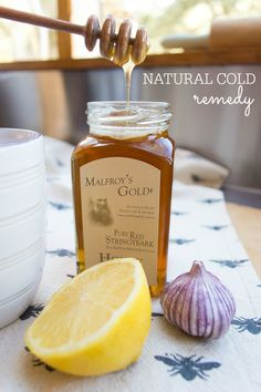Natural Cold Remedy | Natural Remedies for Colds | Garlic Natural Remedy - Farm & Pretty