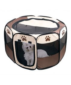 Look at this 23'' Pet Playpen on #zulily today!