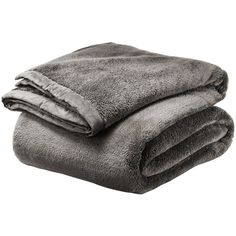 Threshold Fuzzy Blanket ($40) ❤ liked on Polyvore featuring home, bed & bath, bedding, blankets, grey, plush throw, gray knit blanket, gray throw blanket, grey bedding and grey blanket