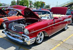 1957 Chevy Bel Air convertible.... Wish Dad's was a convertible!!
