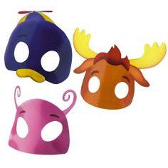 Backyardigans Birthday Masks