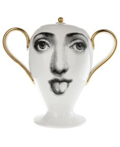 Fornasetti Bitossi Jar - I would put pretty much anything in this jar on my table for a party.