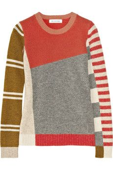 ÉTOILE ISABEL MARANT  Zena patterned wool sweater
