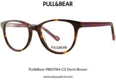 Pull&Bear PBG1764 C2 Demi Brown Pull, Eyewear, Bear, Glasses, Brown, Style, Swag, Eyeglasses, Eyeglasses