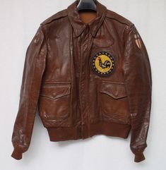 Leather Flight Jacket, Nose Art, Bomber Jackets, Male Fashion, Real Leather, Army, Military, Cosplay, Hats